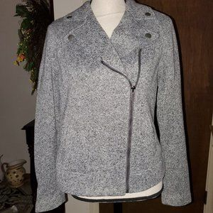 Old Navy Knit Moto Jacket sz M